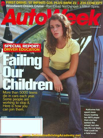 Autoweek Teen Driving Article