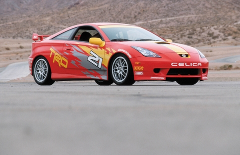 FAST LANE Toyota Celica Photo
