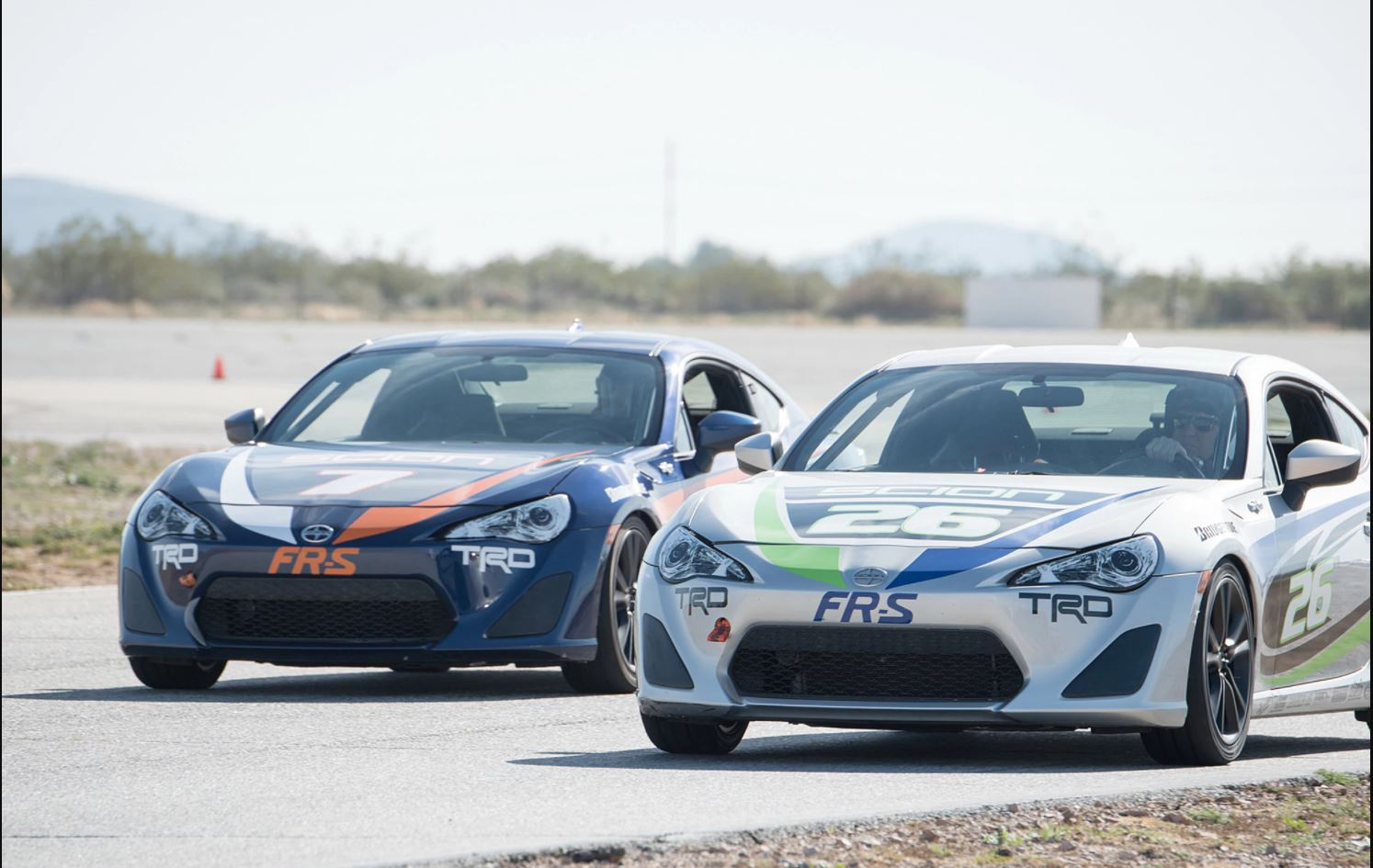 FR-S On the Track
