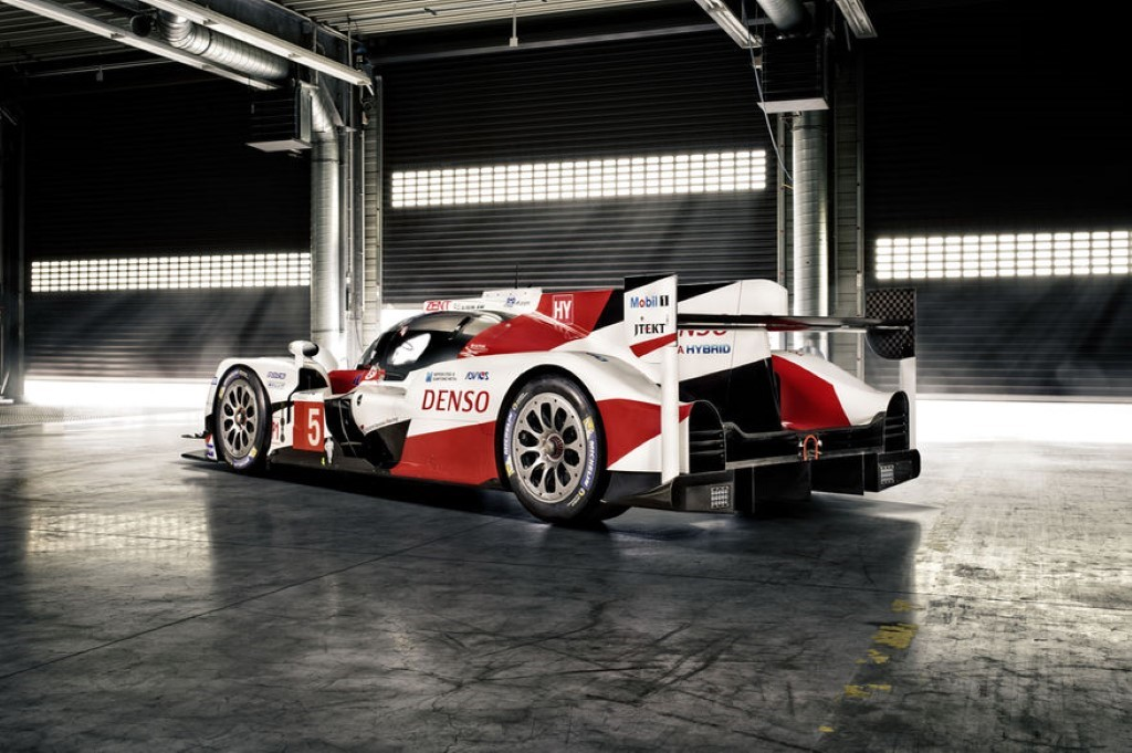 Toyota TS050 Hybrid LMP1 rear three quarters Custom