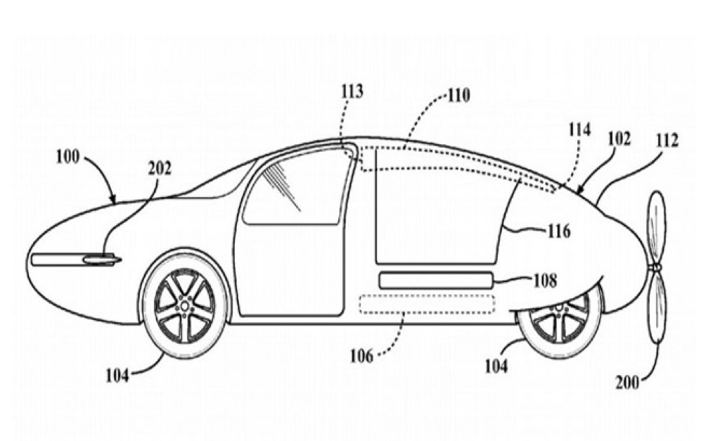 """The Toyota """"Stackable Wing"""" Flying Car"""