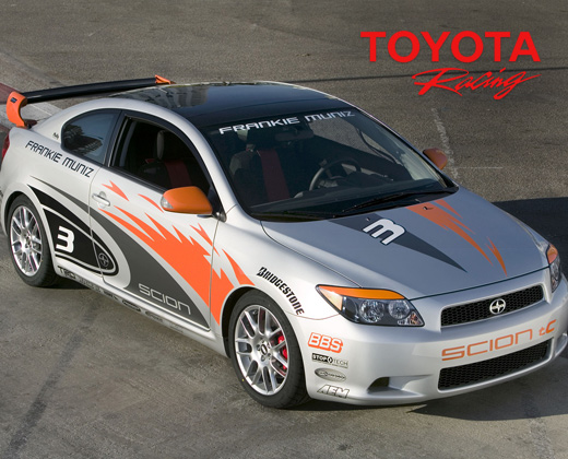 Supercharged Scion TC